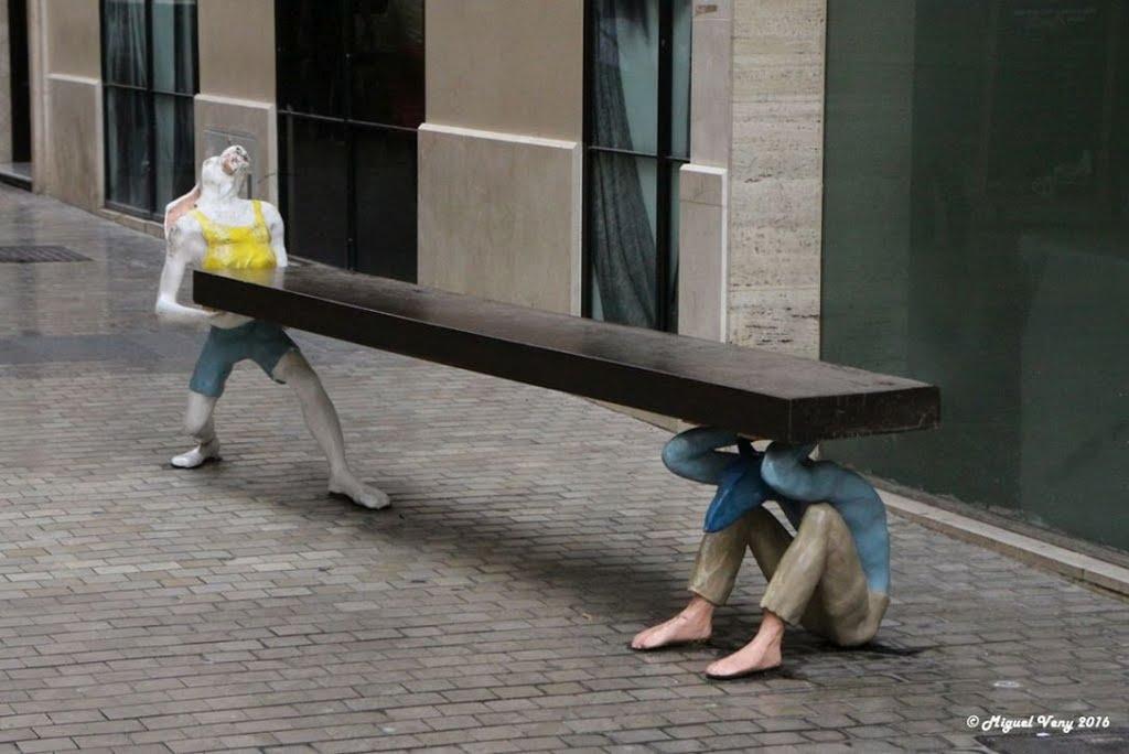 Escultura-Banco-Malaga