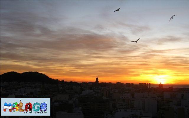 Amanecer en Málaga. Dolores Jurado