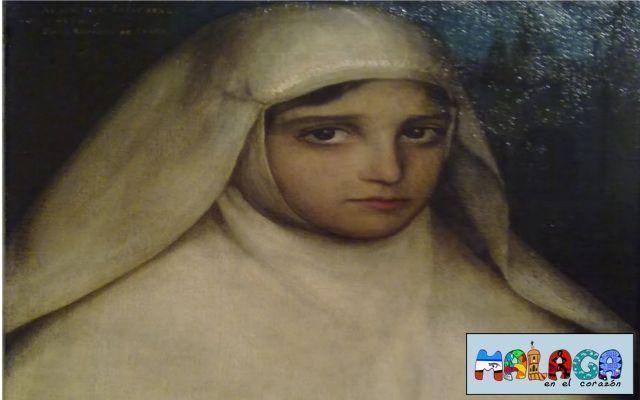 "Julio Romero de Torres. Monja. 1913. Ã""leo sobre lienzo"