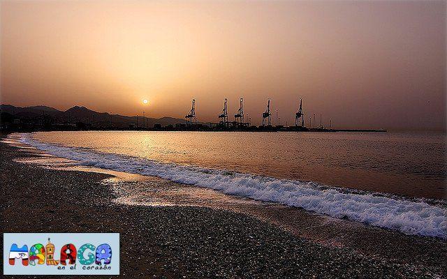Amanecer desde la playa de San Andrés. Quinoal