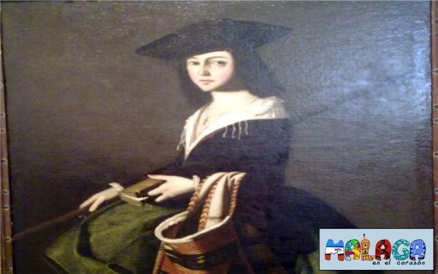 Francisco de Zurbarán. Santa Marina. 1640-1650